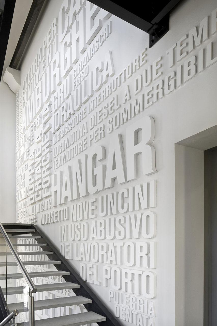 Port Museum in Trieste : map studio